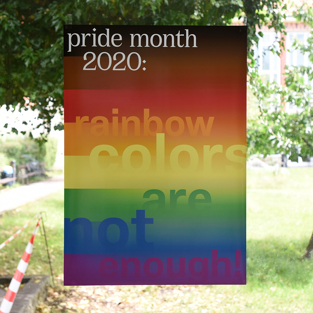 Pride Month 2020: rainbow colors are not enough